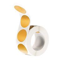 Bộ 300 Giấy Kraft Vàng Scratchable Nhãn Dính Hải Cẩu Miếng Dán Tròn thumbnail