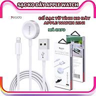 Đế sạc không dây dành cho đồng hồ thông minh - Dây cáp sạc nam châm dài 1.5 mét 2in1 chính hãng thương hiệu Yesido dành cho Apple Watch 1 2 3 4 5 6 Se_CA70 thumbnail