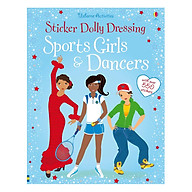 Usborne Sticker Dolly Dressing Sports Girls and Dancers (bind up) thumbnail