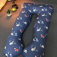Gối ôm bà bầu chữ U đa năng -- Tặng kèm 1 móc chìa khóa thỏ gấu bedding 14 thumbnail