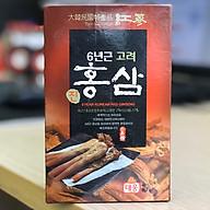 Hộp Nước uô ng Hồng sâm 6 năm tuô i Taewoong Food Ha n Quô c (lẻ 1 hộp) thumbnail