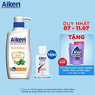 Sữa Tắm Sạch Khuẩn Aiken Chiết Xuất Bạc Hà 350g - Tặng Gel rửa tay 60ml thumbnail