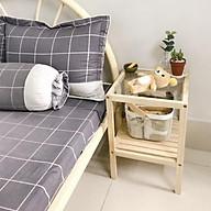 Kệ đầu giường 2 tầng - Kệ gương đầu giường thumbnail