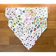Bộ 10 khăn yếm ăn dặm cho bé yêu HB635 thumbnail