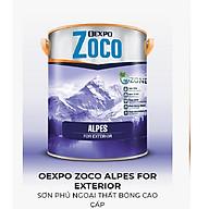 OEXPO ZOCO ALPES FOR EXTERIOR SƠN PHỦ NGOẠI THẤT BÓNG CAO CẤP- OZ80125 thumbnail