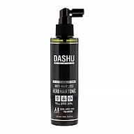 Xịt dưỡng tóc Dashu Daily anti-hairloss herb hair tonic, duong toc Han Quoc chiết xuất từ 9 loại thảo mộc, thành phần hữu cơ tự nhiên, cân bằng PH, làm sạch tế bào chết, tinh chất CPS giảm rụng tóc, chăm sóc, massage bảo vệ da đầu. thumbnail