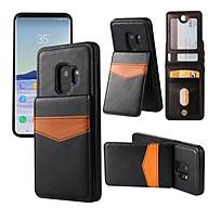 Bao da Samsung Galaxy S10, S10E, S10Plus, S9, S9plus, Note 9 kiêm ví đựng tiền, thẻ, card rất tiện lợi thumbnail