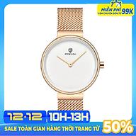 Đồng Hồ Nữ PAGINI 5233 Dây Titanium Cao Cấp thumbnail
