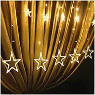 Dây Đèn Led - Đèn Led Trang Trí Hình Ngôi Sao Thả Rèm Không Thấm Nước Trang Trí Cho Các Bữa Tiệc, Phòng Ngủ, Giáng Sinh, Lễ, Tết thumbnail