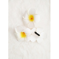 Kẹp tóc hoa sứ - 3 bông thumbnail