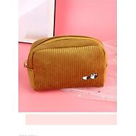Túi đựng mỹ phẩm, phụ kiện, đồ du lịch vải nhung kích thước 5 10 15 cm thumbnail