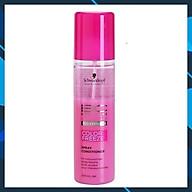 Xịt dưỡng giữ màu tóc nhuộm Schwarzkopf BC Bonacure pH 4.5 Color Freeze Spray Conditioner 200ml thumbnail