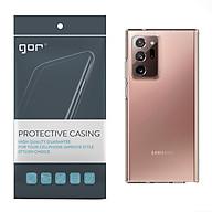 Ốp Lưng Silicon TPU trong suốt GOR cho Samsung Galaxy Note 20 Note 20 Ultra - Hàng Nhập Khẩu thumbnail