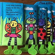 Cuốn sách vải 5 chú côn trùng thumbnail