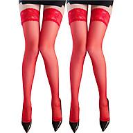 Combo 2 đôi tất vớ đùi nữ viền ren siêu dai bền đẹp thumbnail