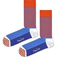 Vớ Unisex Happy Socks Half Stripe - 7333102089349 - Màu Ngẫu Nhiên thumbnail