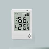 Nhiệt ẩm kế mini màn hình LCD 3.2 inch WDJ-03 (Màu ngẫu nhiên) - (Tặng kèm miếng thép đa năng 11in1) thumbnail