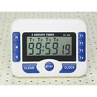 Đồng hồ đếm ngược 4 kênh đếm ngược tối đa 99 giờ - Tặng kèm 1 móc rìu bằng thép không gỉ thumbnail