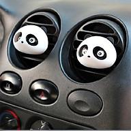 Combo 02 nước hoa ô tô panda gấu trúc kẹp khe gió - Màu ngẫu nhiên thumbnail