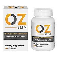 Thực phẩm chức năng Viên uống hỗ trợ giảm cân OZ Slim USA (40 viên) - Nhập khẩu Mỹ thumbnail