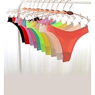 Combo 10 quần lót nữ lọt khe su đúc mịn mát, sexy - ZQ2541 (Màu ngẫu nhiên) thumbnail