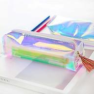Túi bút hologram trơn đầy màu sắc thumbnail