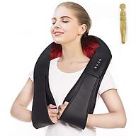 Đai Massage Đa Năng 8 Đầu Massage Cho Cổ Vai Gáy - Tặng kèm bút massage bấm huyệt thumbnail