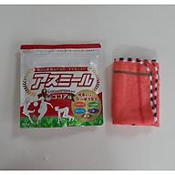 Sữa phát triển chiều cao Asumiru Nhật Bản 180g (vị cacao) - Giúp Tăng Trưởng Chiều Cao Vượt Trội dành cho trẻ từ 3-16 tuổi Tặng khăn mặt vải cotton mềm mịn. thumbnail