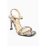 Giày Sandal Gót Nhọn Da Rắn Sulily SG1-IV20XAM màu xám thumbnail