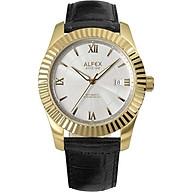 Đồng hồ Alfex 9011 838 Nam Máy Cơ Kính Sapphire 42mm thumbnail