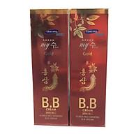 Combo 2 hộp Kem nền BB Hồng sâm đỏ Hàn Quốc-My SU S II R Red Ginseng B.B Cream (40ml), kem lót nền BB My Gold, kem nền Hàn Quốc, kem nền che khuyết điểm thumbnail