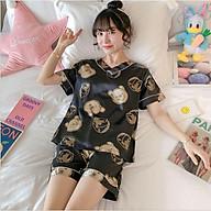 Bộ ngủ bộ pijama xinh xắn vải mềm mịn thumbnail