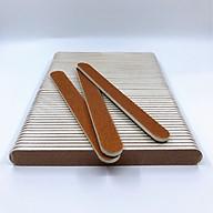 Set 10 cây dũa móng tay, dũa móng bột cao cấp Salon Pro - Độ nhám 80 80 thumbnail