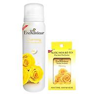 Combo Xịt khử mùi toàn thân Enchanteur Charming 150ml+Nước hoa bỏ túi Charming 18ml thumbnail