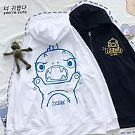 Áo hoodie in hình khủng long J18 thumbnail