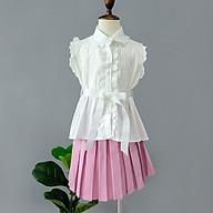 Váy bé gái xếp li Chaiko House X58 thumbnail