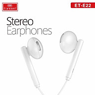 Tai nghe nhét tai có dây giắc cắm 5mm có micro và nút điều chỉnh âm lượng và trả lời từ chối cuộc gọi có khả năng chống nước và khử tiếng ồn tương thích với tất cả thiết bị - Hàng chính hãng thumbnail