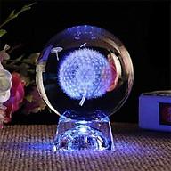 Quả cầu thủy tinh pha lê BỒ CÔNG ANH có đền phát sáng 7 màu tặng ảnh Vcone thumbnail