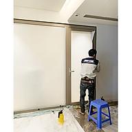 Phim dán kính mờ trang trí cao cấp Anygard Hàn Quốc white matte dùng cho nhà tắm, vách kính tòa nhà thumbnail