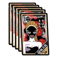 Mặt Nạ Sexy Look Mềm Mịn Kiềm Dầu Đen Đỏ (28ml miếng) - Hộp 5 Miếng thumbnail