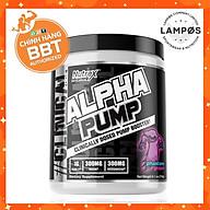 Nutrex Alpha Pump, Pre-Workout Tăng Sức Mạnh, Sức Bền, Tỉnh Táo Tập Trung, Không Chứa Caffeine, Phù Hợp Sử Dụng Khi Tập Luyện Ban Đêm Không Gây Mất Ngủ (20 lần dùng) thumbnail
