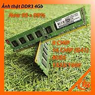 Ram Kingmax 4GB DDR3 Buss 1333 1600 Dùng Được Cho G41 - Hàng Chính Hãng thumbnail