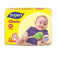 Tã Dán Drypers Classic Gói Trung M22 (22 Miếng) thumbnail
