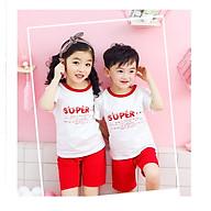 Bộ Quần áo cộc super cho các bé trai và bé gái từ 3-10 tuổi. thumbnail