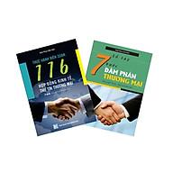 Combo - Thực hành biên soạn 116 hợp đồng kinh tế và thư tín thương mại & Sổ tay 7 bước đàm phán thương mại thumbnail