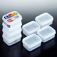 3 Bộ 4 hộp nhựa nhí 100ml - Hàng Nội Địa Nhật thumbnail