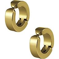 Bộ 2 bông tai Titan kẹp vành không cần bấm lỗ xỏ lỗ thumbnail