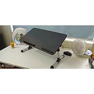 Bàn gấp laptop làm việc thư giãn trên giường và sàn nhà B6 thumbnail