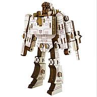 Đồ chơi lắp ráp gỗ 3D Mô hình Robot Megatron thumbnail