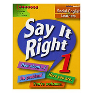 Say It Right 1 With Audio CD thumbnail